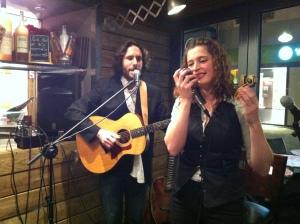 Olivier Orlando et Tamara Dannreuther